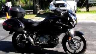10. 2012 Suzuki V-Strom DL 1000 Adventure Black at Euro Cycles of Tampa Bay