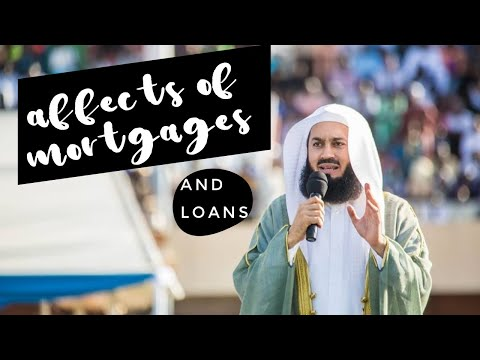 Affects of having interest/loans/mortgage (4mins) (MUFTI MENK) EPIC!
