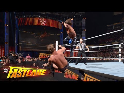 AJ Styles Vs. Chris Jericho: WWE Fastlane 2016