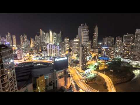 panama city - Timelaps done at Panama City in 2012 at Avenida Balboa, Tornillo, Pacific, Trump Tower, Patilla, Miramar.