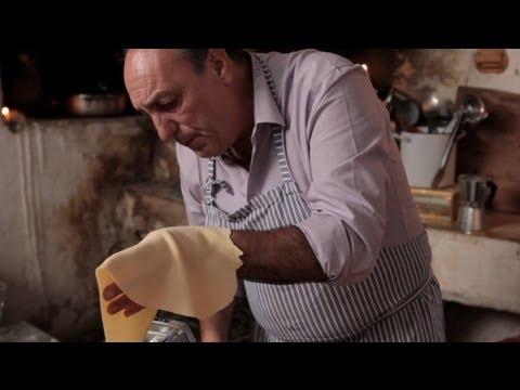 Gennaro Contaldo makes Taglierini Pasta