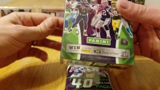 2016 Panini Rookies and Stars Retail Therapy. Rack Pack, Blister Box, Blaster Box