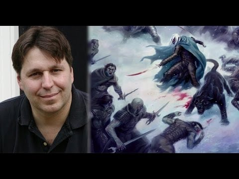 RA Salvatore - On October 4, 2012, writer R.A. Salvatore received the Chandler Reward of Merit from the Thayer Memorial Library in Lancaster, Massachusetts. The Chandler Re...