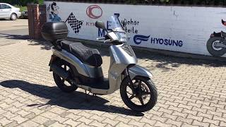 6. Kymco People 50 S Elegance - Limited Edition, Walkaround