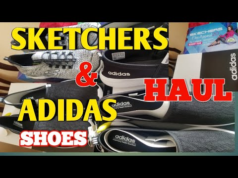 SKETCHERS & ADIDAS  HAUL