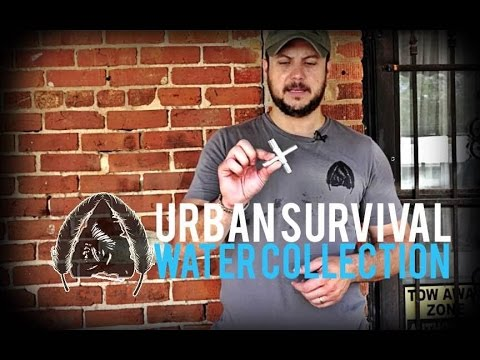 Urban Survival- Water Collection