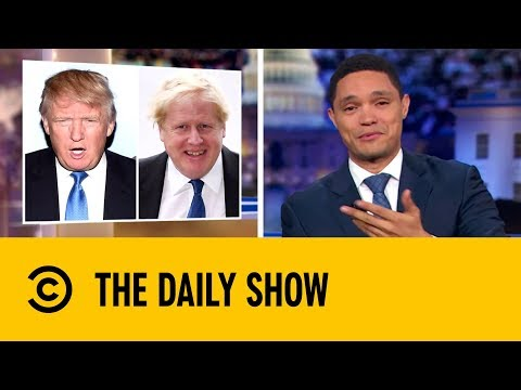 Boris Johnson is Britain's Donald Trump : Video 2019 :     Chortle : The UK Comedy Guide