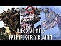 God Of War Juego Vs Mito Fafnir Otr Y Reginn Los Dragon