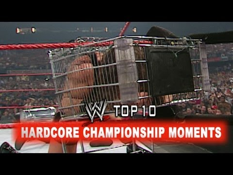WWE Top 10 - Hardcore Championship Moments