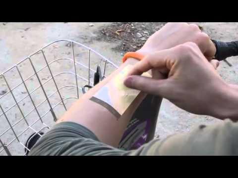 the cicret bracelet - il display del tuo smartphone sulla tua pelle