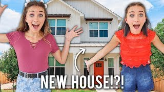 Empty House Tour | Our New College Home by Brooklyn and Bailey