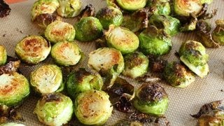 Learn how to make a Duck Fat Roasted Brussels Sprouts recipe!