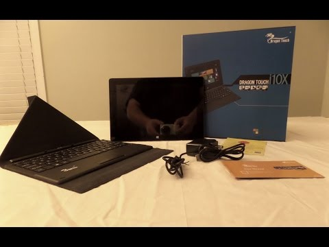 Unboxing of the Tablet Express i10X Convertable 2 in 1 Windows 8.1 Tablet/Laptop