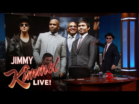 Jimmy Kimmel Asks to be in Manny Pacquiao's Entourage