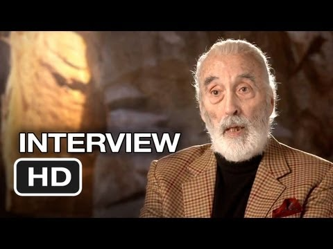 The Hobbit: An Unexpected Journey - Christopher Lee Interview - Saruman (2012) HD Video