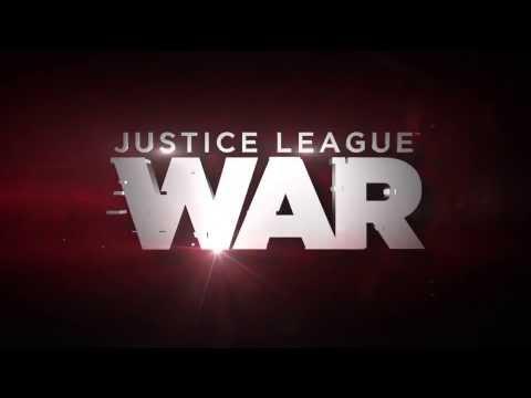 Liga de la justicia  Guerra  Película Trailer 2014