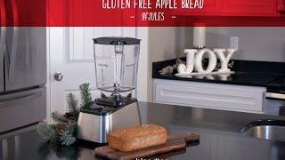 Blendtec Winter Party - gfJules Gluten Free Apple Bread