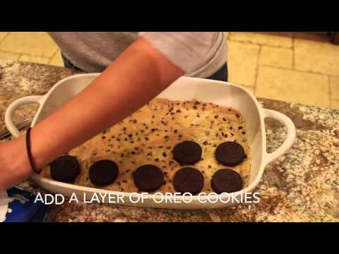 How To: Chocolate Chip Cookie, Oreo Cookie & Brownies