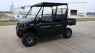 7. SALE $14,499:  2018 Kawasaki Mule Pro FXT EPS LE in Super Black Overview and Review