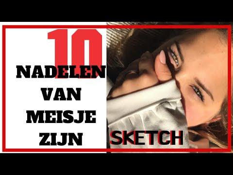 10 Nadelen van Meisje Zijn (Sketch) | Emma Keuven