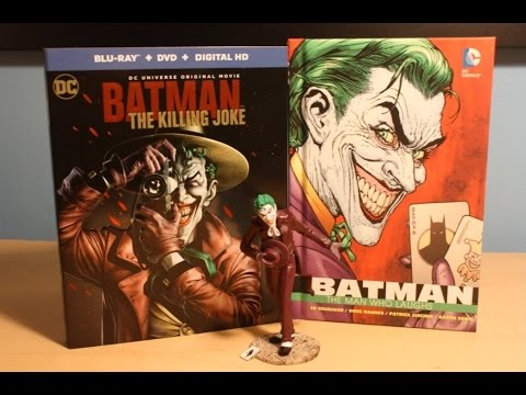 Batman: The Killing Joke - Best Buy Exclusive Limited Edition Blu-ray Gift Set Unboxing