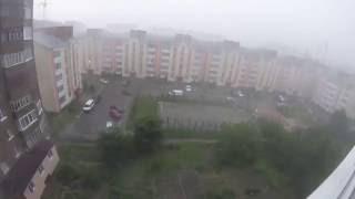 Lutsk Ukraine  city photos : The most extreme weather that I have ever seen Lutsk, Ukraine 09/06 2016