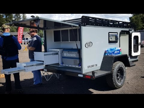 The most rugged offroad camper trailer I have ever seen - by Overland Explorer : Overland Expo 2017