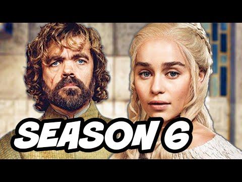 Game Of Thrones Season 6 - Daenerys Targaryen and Tyrion Lannister