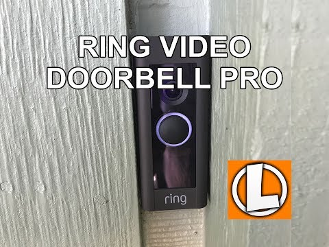 Ring Video Doorbell Pro Review - Unboxing, Installation, Setup, Settings, Video Footage