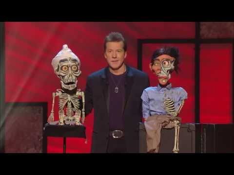 ventriloquist - Achmed has a son! An extended clip of Jeff Dunham, Achmed, and Achmed Junior from Jeff's latest stand-up special Controlled Chaos. Silence... wait for it... ...