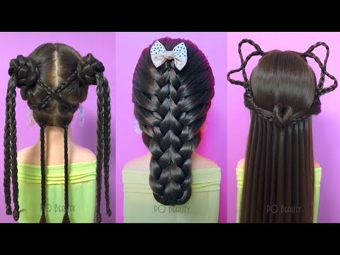 Hairstyles for long hair - Easy Hair Style for Long Hair   TOP 20 Amazing Hairstyles Tutorials Compilation 2019  Part 4