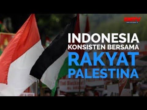 Indonesia Konsisten Bersama Rakyat Palestina