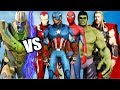 Download Lagu THE AVENGERS VS THANOS - Iron Man, Hulk, Spider-Man, Captain America, Thor, vs Thanos Mp3 Free