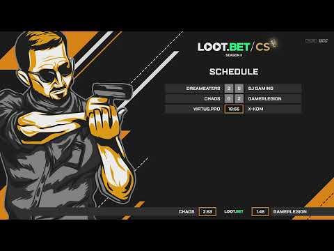 (EU) Chaos vs GamerLegion | Loot.bet/CS S2 | by @oversiard & @KieranTheCaster