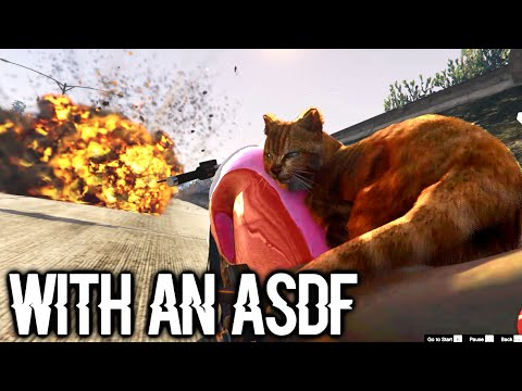 GTA 5 PC Animal Apocalypse (Mod) with an Asdf