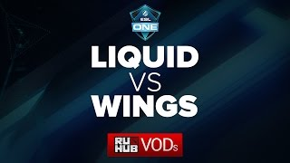 Liquid vs Wings, game 1