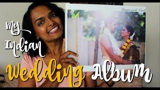 MY INDIAN WEDDING ALBUM FLIP THROUGH