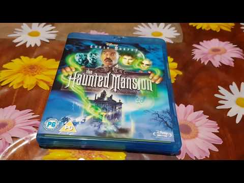 The Haunted Mansion Blu-ray New And Factory Sealed Unboxing