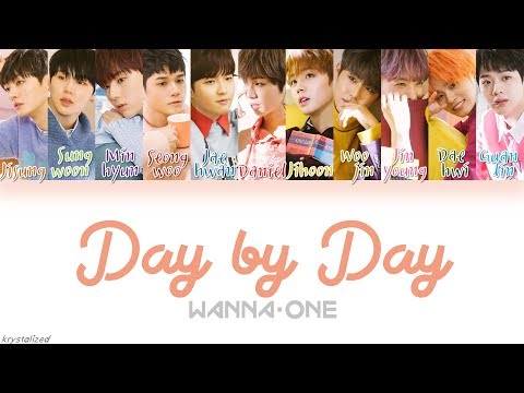 Wanna One (워너원) - 보여 (Day by Day) l [HAN|ROM|ENG Color Coded Lyrics]