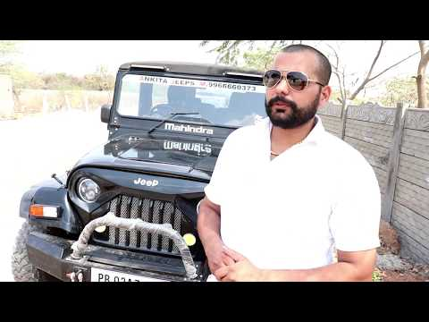 Mm550 Converted Into New Thar Model By Ankita Jeeps Ph No:- 9966660373
