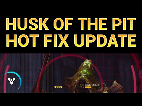 planet pit - Husk of the Pit is now obtainable in the full game, thanks to the latest hot fix: http://planetdestiny.com/hot-fix-1-1-0-2 -- EIDOLON ALLY PvP gameplay! https://www.youtube.com/watch?v=DLZXcdZs6Ko...