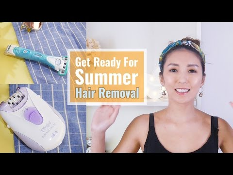 夏日除毛大作戰。Get Ready For Summer-Hair Removal