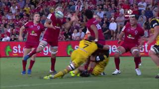 Reds v Hurricanes Rd.6 Super Rugby Video Highlights 2017