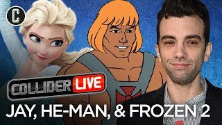 Jay Baruchel in studio! He-Man, Rambo and Frozen 2 Oh, My! - Collider Live #72 by Collider