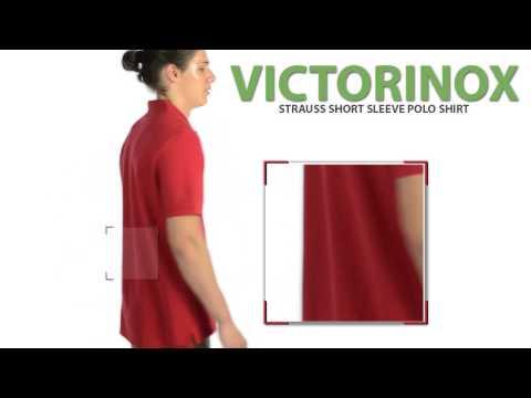 Victorinox Swiss Army Strauss Polo Shirt - Short Sleeve (For Men)