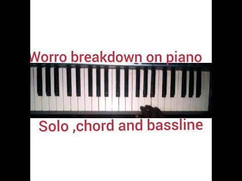 Worrow Breakdown (Nigeria Piano Praise)soloing And Bassline