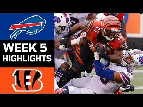 Video: Bills vs. Bengals | NFL Week 5 Game Highlights