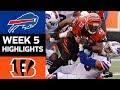 Bills vs. Bengals | NFL Week 5 Game Highlights