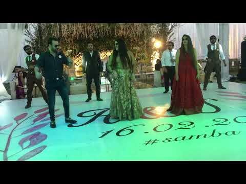 Suada khra khra Pakistani wedding dance (Mr Pooh)
