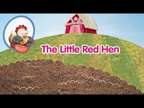 The Little Red Hen - A read-along story for very young learners